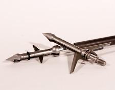 "Slick Trick RaptorTrick Mechanical Broadheads, 2"", 2 Blade, 100g, 3 pack"