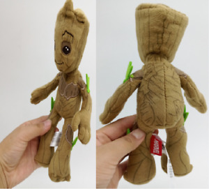 22cm Guardians of The Galaxy Baby Groot Plush Toys Soft Doll Avengers Wholesale