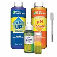 General Hydroponics pH Control Test Kit - GH 8 oz Up Down Adjustment Combo