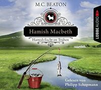M.C. BEATON - HAMISH MACBETH FISCHT IM TRÜBEN  4 CD NEW