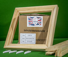 "34"" x 38mm Gallery Canvas Pine Stretcher Bars, Value Pack ( 30 Bars Per Box )"