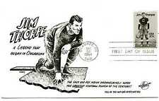 2089 Jim Thorpe Hunt cachet, (football), FDC