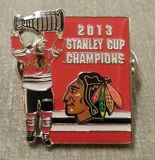 2013 STANLEY CUP CHAMPIONS NHL CHICAGO BLACKHAWKS Lapel Pin LE