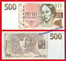 REPUBLICA CHECA CZECH REPUBLIC 500 Korun 1998 Pick 7  SC / UNC