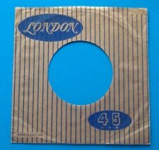 Ten Replicas Of Original Used Early London Label  Record Sleeve, Pack Of 10