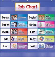 Class Jobs Pocket Chart .. NEW