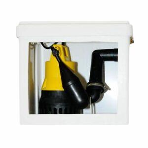 Jung Hebefix Abwasserhebeanlage 1063 komplett mit U3KS Pumpe 0206 Hebeanlage