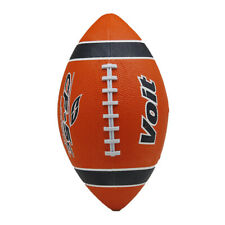 Voit Junior Football Orange/Blue Stripe
