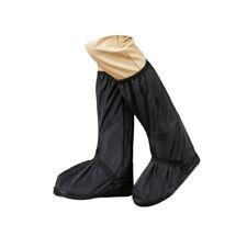 Reusable Rain Shoe Covers Bike Waterproof Zipper Overshoes Boots Gear Anti-Slip.