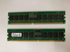 Samsung 2 GB (PC2700) M312L2920BG0 (2x1GB)