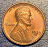 1929S San Francisco Lincoln Wheat Cent Red/Brown Color