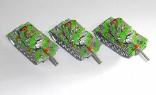 2002 Hasbro Micro Machines Military ~ MILITARY TANKS ~ Vehicles (HO5)