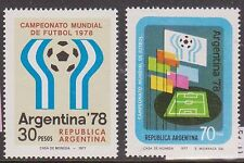 (1977) Sc 1147-48. Soccer, World Cup. 2-stamp set. MNH. Excellent condition.