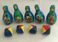 """Disney Characters Mickey Mouse 6"""" (15.5cm) Soft Bowling Toys & Balls"""