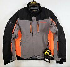 Klim Valdez Mens Snowmobile Parka Orange Size MD Medium 3570-007-130-400 NEW