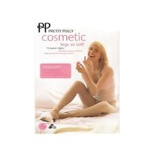 Pretty Polly Cosmetic Legs So Soft Tights S/M Natural