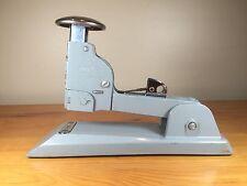 "Swingline No. 13 Grey Heavy Duty Steel Vintage Stapler Uses 1/4 to 1/2"" staples"