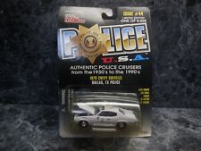1998 racing champions 1970 chevychevelle dallas,tx police car/new