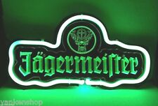 "CD230 Jagermeister Beer Bar Pub shop Display Neon Green Light Sign 11.5""x 6.5"""