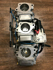 2001 Yamaha 50 HP 2 Stroke Outboard Engine Carbs Carburetors Freshwater MN