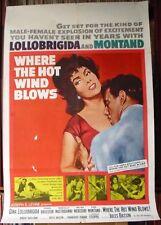 Drama Original US One Sheet Film Posters (Pre-1970)