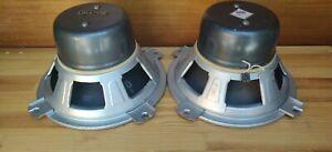 "2x Isophon P30/37 Echolette Lautsprecher speakers 12"" 6Ω   x"