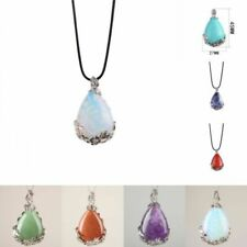 Crystal Amethyst Costume Pendants
