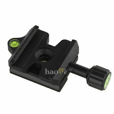 Quick Release QR Clamp Adapter Convertor for Manfrotto to Arca-Swiss Compatible