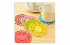 Lace Round Coasters
