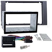 Radio Blende Adapter für FORD Transit Doppel 2 DIN Autoradio Einbau Rahmen MOST