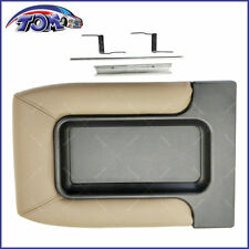 Center Console Organizer Armrest Latch Lid Fits 99-07 GM Chevy Beige Repair Kit