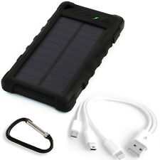 External Solar Charger Power Bank 29600mWh Solar panel 1W Li-Po LED - PowerNeed