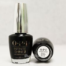 OPI INFINITE SHINE We're in the Black - Air Dry 10 Day Nail Polish 0.5 oz IS L15