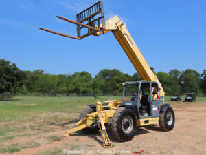 2014 Gehl DL12H-40 40' 12,000 lbs Telescopic Reach Forklift Telehandler bidadoo