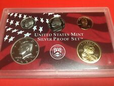 2000 5-piece SILVER STATE QUARTER Proof Set Free shipping!