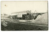 RPPC Washington County Coal Co Mine Mining Tipple STUDA PA Real Photo Postcard
