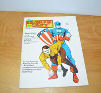 Vintage THE GOLDEN AGE OF COMICS Comic Book Magazine #6 1983 Captain America