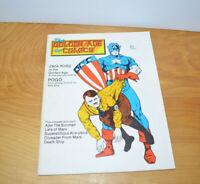 Vintage THE GOLDEN AGE OF COMICS Comic Book Magazine #6 1983 Captain America