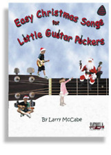 """Easy Christmas Songs For Little Guitar Pickers"" Music Book W/Tab -New-On Sale!"