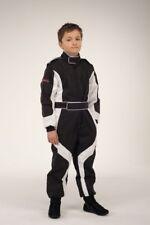 Kartoverall, Kartanzug, keep-racing® Cruiser Overall, schwarz/weiß, Größe 152