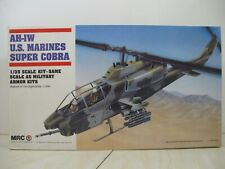 Mrc 1/35 Ah-1W U.S.Marines Super Cobra Helicopter #Ba100