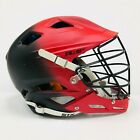 New STX Schutt Stallion 600 lacrosse helmet Small custom red black D30 air liner
