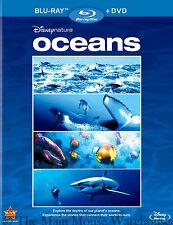 Disneynature Disney Nature Oceans Sealife Underwater Documentary Blu-ray & DVD