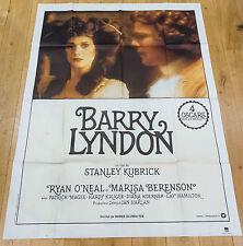 Affiche de cinéma : BARRY LYNDON de STANLEY KUBRICK