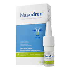 Nasodren® nasal spray for sinus infection symptoms relief - 100 % natural