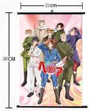 145 Hot Anime Hetalia Axis Powers  Wall Poster Scroll Home Decor Cosplay