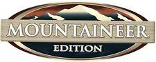 1 RV TRAILER MONTANA MOUNTAINEER EDITION LOGO DECAL GRAPHIC -1237