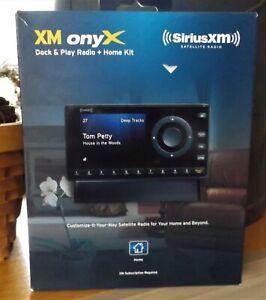 NEW IN BOX XM ONYX **SIRIUS XM SATELLITE RADIO/ PARTS STILL IN SEALED BAGS