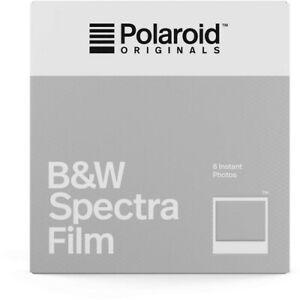 Polaroid Originals B&W Spectra Instant Film. (Sealed)