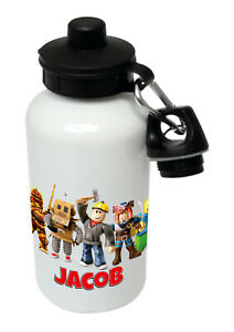 Roblox - Personalised Kids/Drinks/Sports Childrens Water Bottle